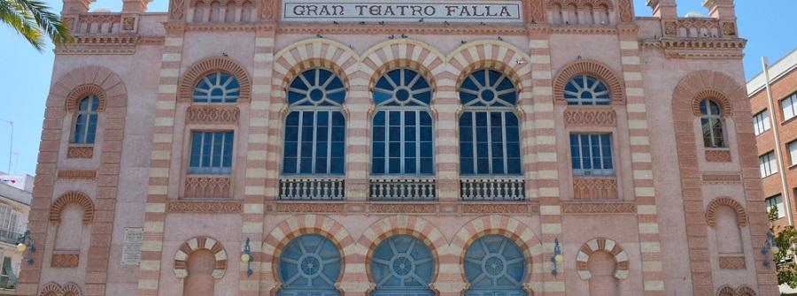 cadiz spanien teatro Falla