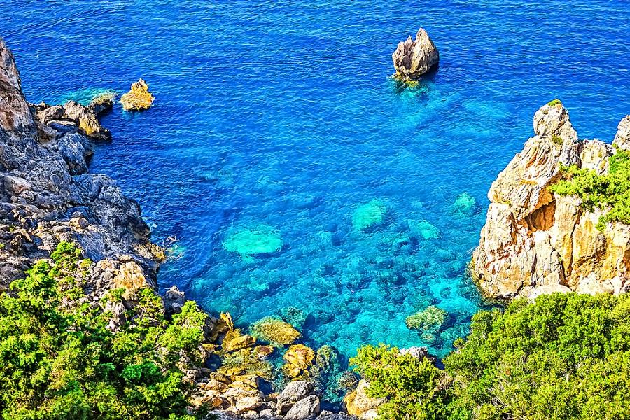 Vacaciones de verano en Corfú