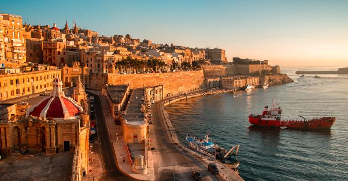 Malta puerto