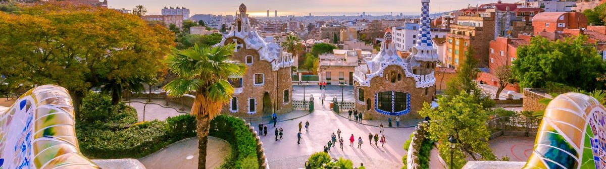 Barcelona Parc Guell View_shutterstock_407568172 – Copy