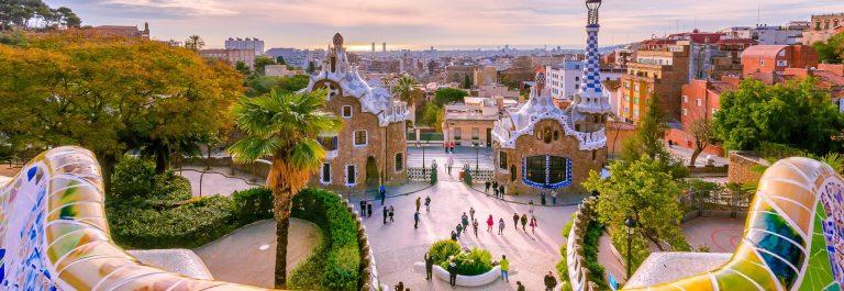 Barcelona Parc Guell View_shutterstock_407568172 – Copy