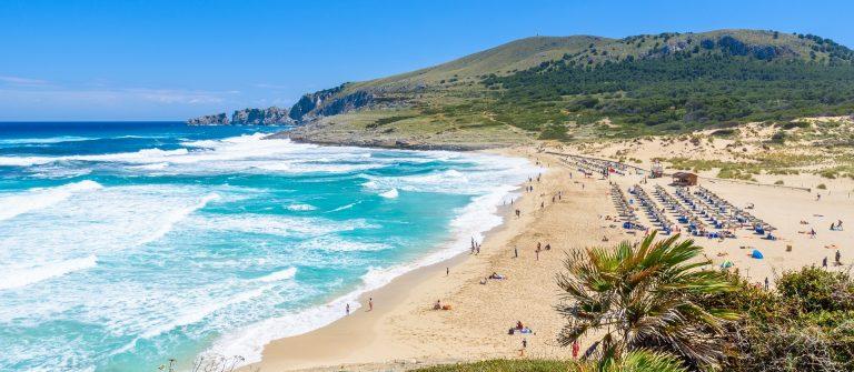 Cala Mesquida – beautiful beach of island Mallorca, Spain shutterstock_450424210