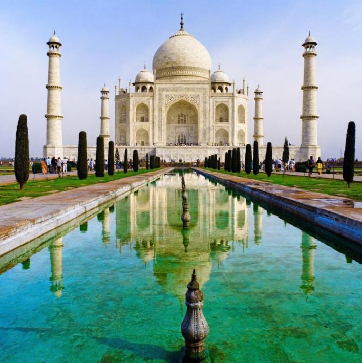 Taj Mahal-Indien-Palast