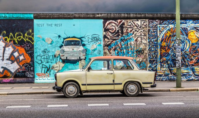 Berliner Mauer (Berlin Wall) at East Side Gallery shutterstock_302417708 EDITORIAL ONLY canadastock-2
