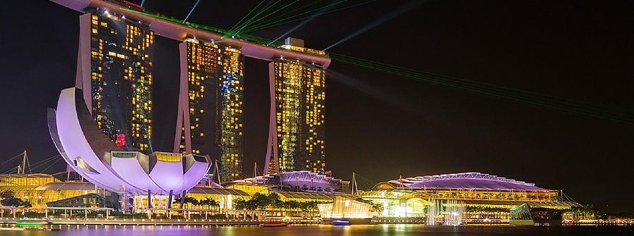 Marina Bay Sands noche