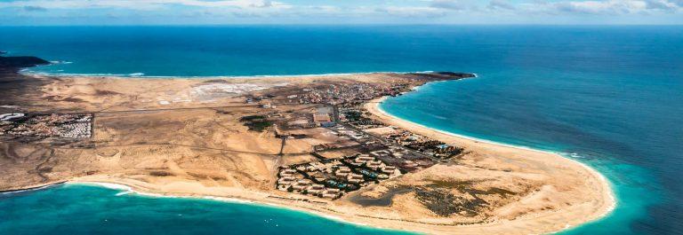 Aerial view of Santa Maria in Sal Island Cape Verde – Cabo Verde