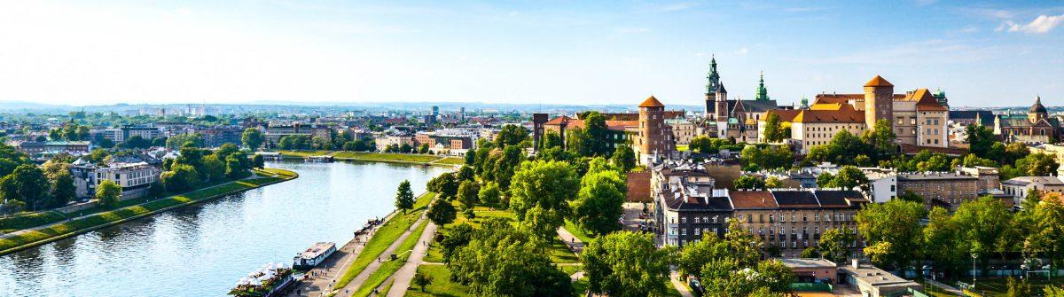 Krakow panorama