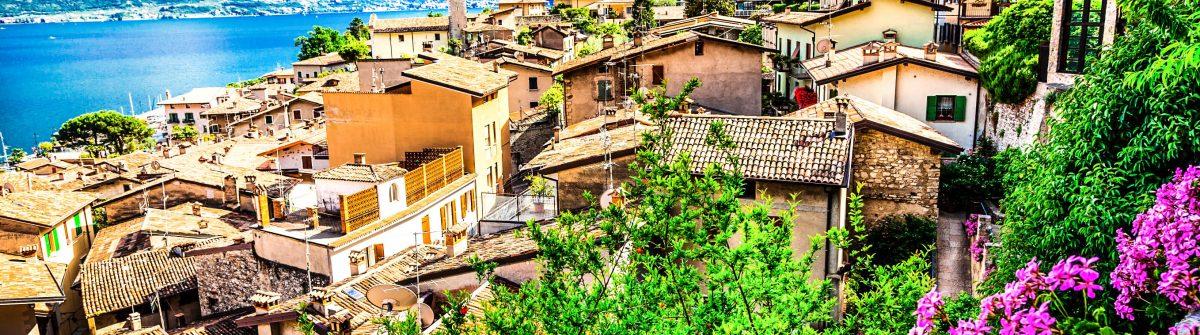 Limone – beautiful town in Lago di Garda, Italy north