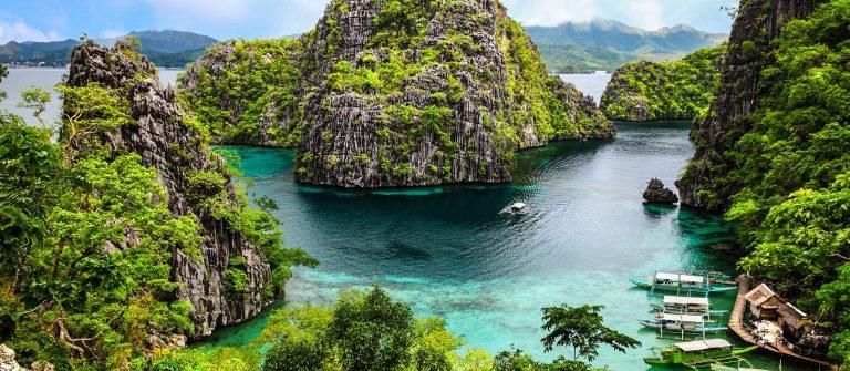 Coron Busuanga Landschaft, island, Inselgruppe Palawan Provinz, Philippinen iStock_000050119154_Large-2