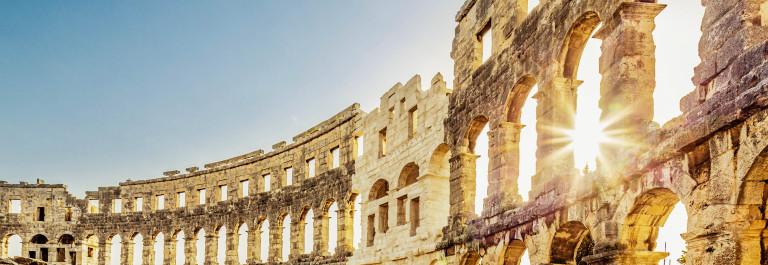 Amphitheater Pula,Croatia Landmark