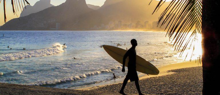 Sunset in Ipanema Beach – Rio de Janeiro
