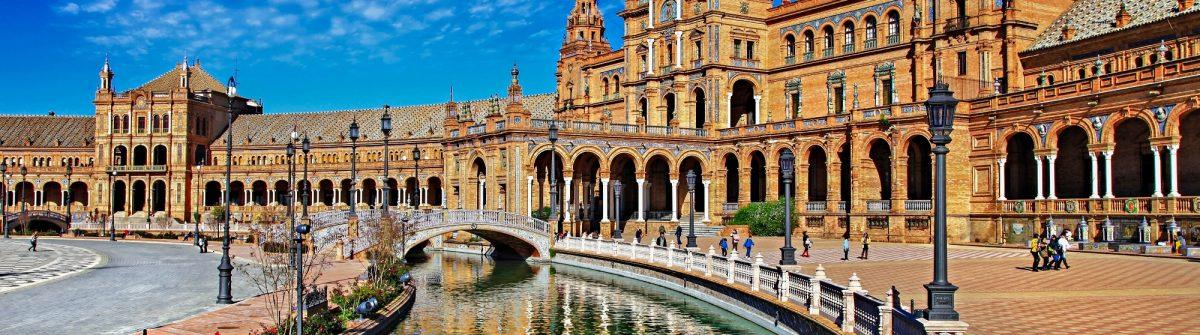 beautiful Plaza de Espana, Sevilla, Spain shutterstock_179024282-2