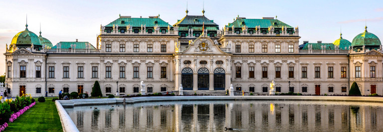 Palace Upper Belvedere in Vienna