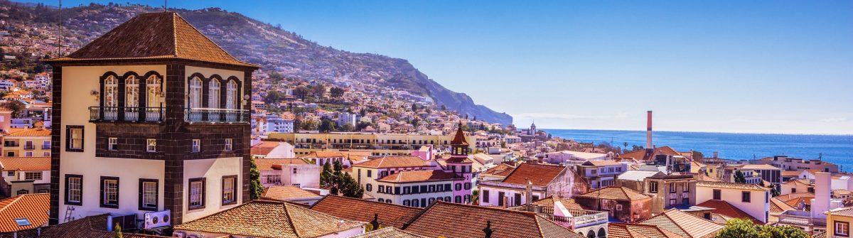 View over Funchal Downtown