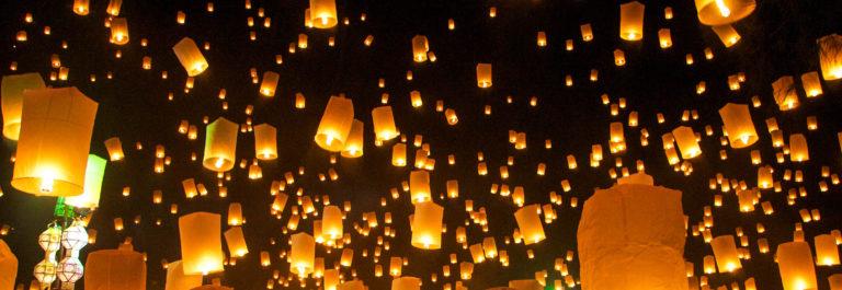 Loy Krathong celebrations, Thailand