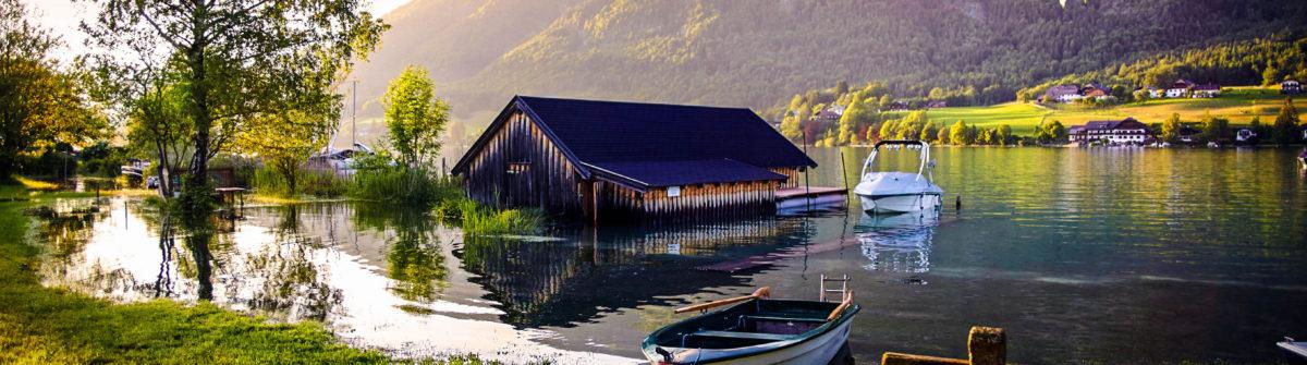 Moon lake in Tirol, Austria