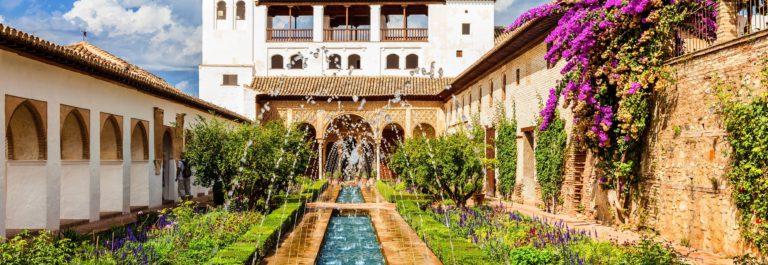 The Generalife of Alhambra de Granada