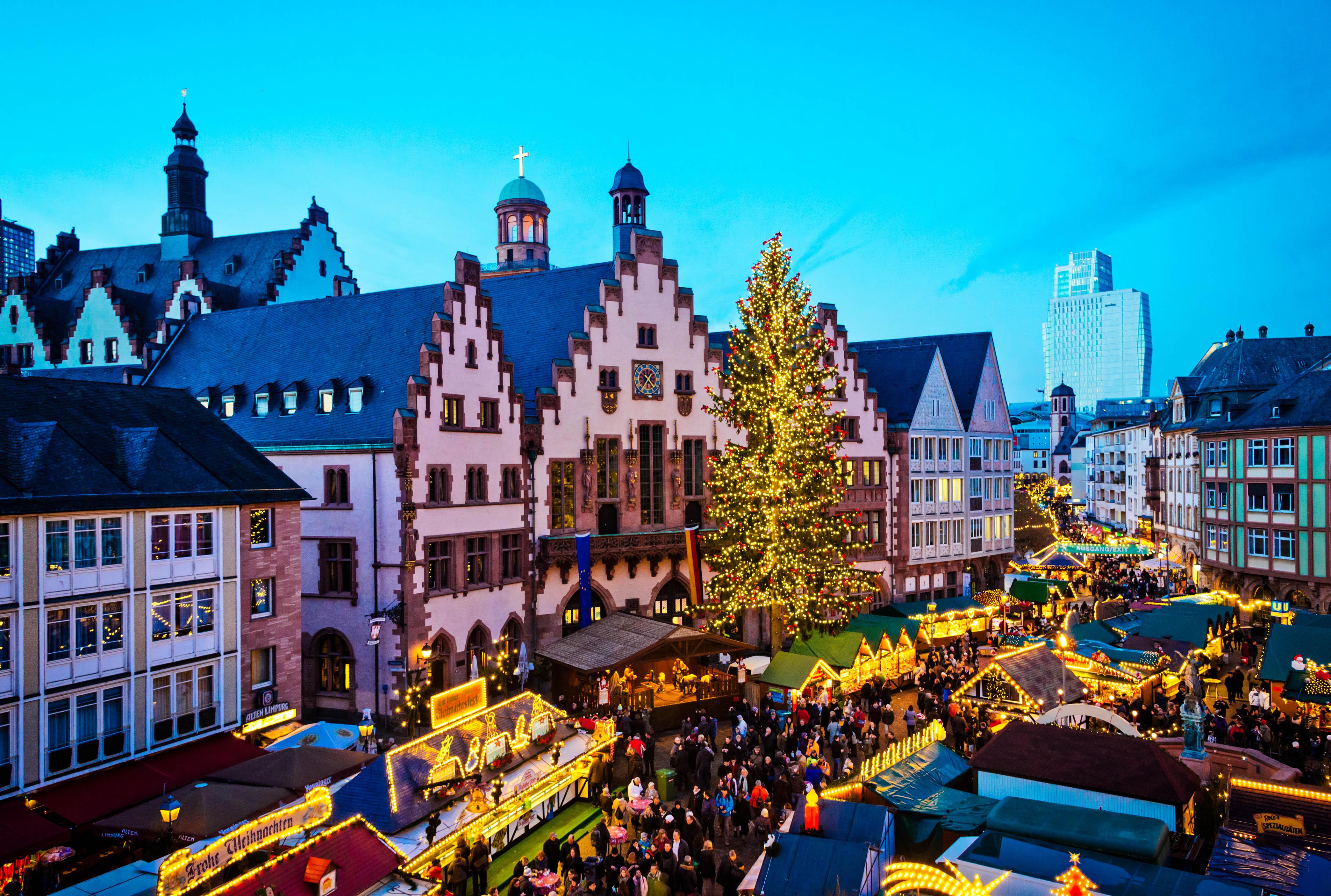 Conoce Los Mercados De Navidad Durante Este Viaje A Frankfurt