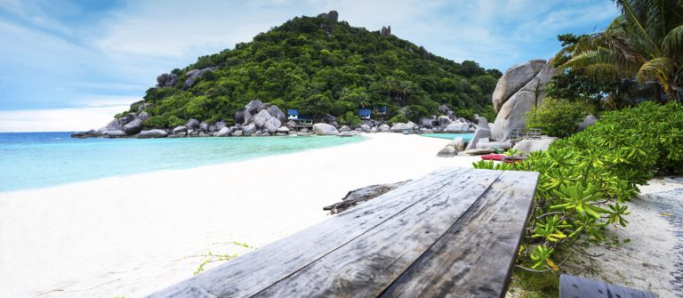 Relaxing on Koh Nang Yuan