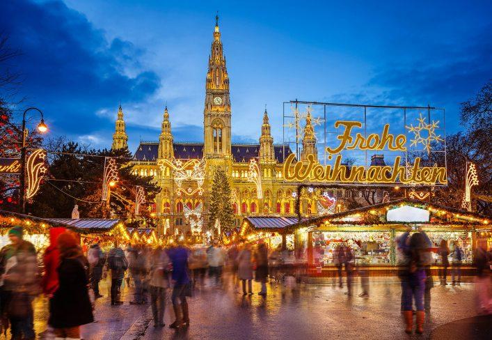 Mercados de Navidad Europa Viena