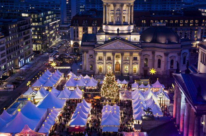 Mercados de Navidad Europa Berlin