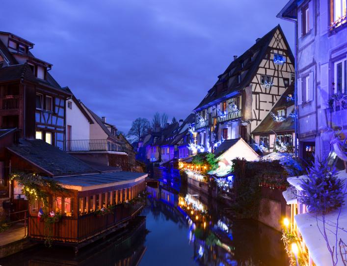 Mercados de Navidad Europa Alsacia
