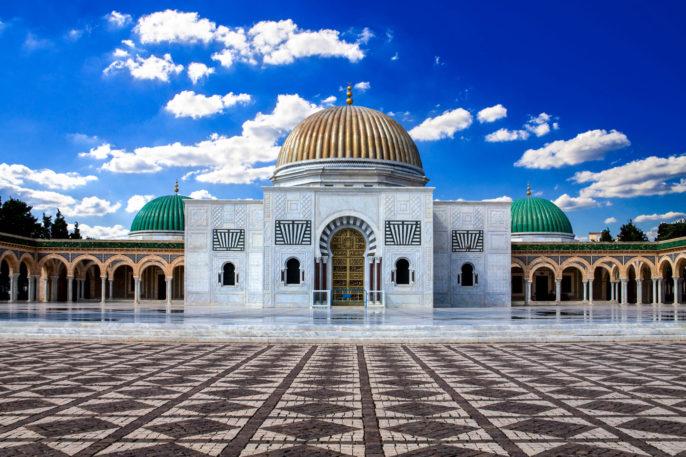 Tunez Mausoleo de Bourguiba