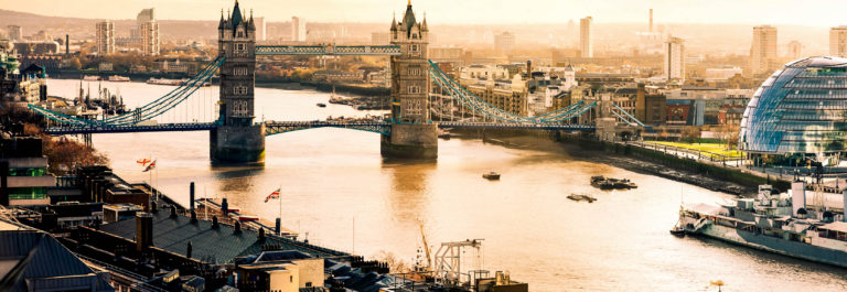 Aerial view of Tower Bridgeand City Hall in London iStock_000019380154_Large-2
