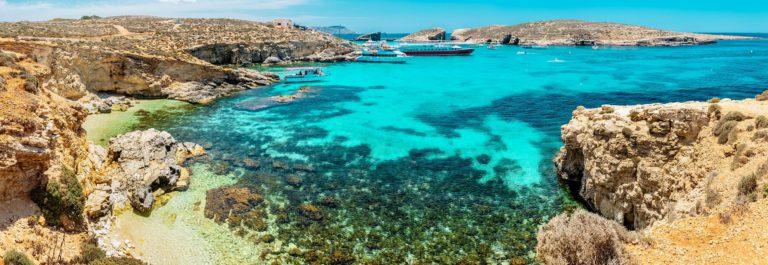 Blue lagoon, Comino – Malta