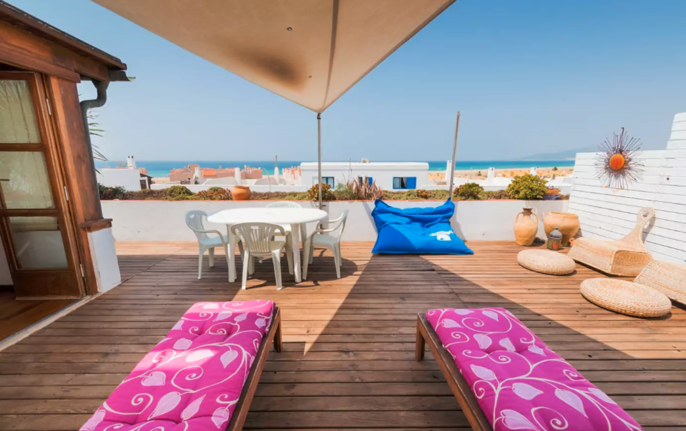 Gran apt, terraza vistas al mar wifi fibra optica
