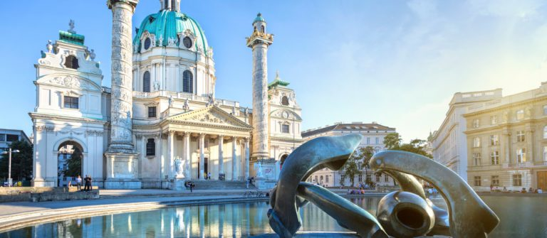 St. Charles's Church in Vienna, Austria_shutterstock_169987028