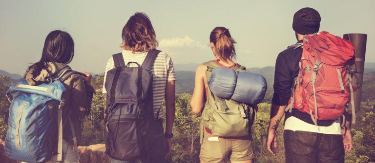 shutterstock_Backpacker Camping Hiking Journey Travel Trek Concept_klein