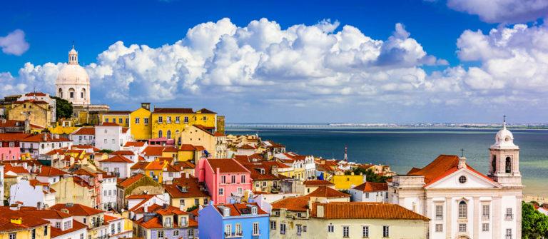 Alfama Lisbon Cityscape