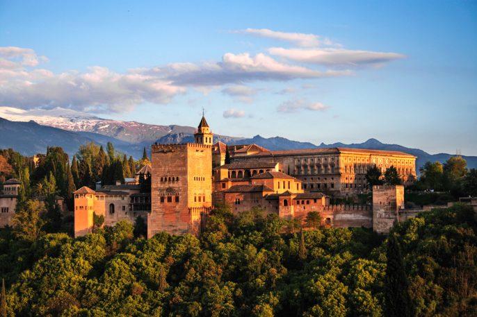 Viaje a Granada con entradas a la Alhambra