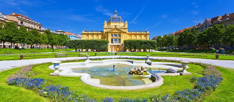 Art pavillion in Zagreb Croatia shutterstock_130388681-2