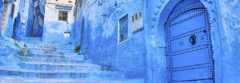 Medina in Chefchaouen, Morocco, Africa