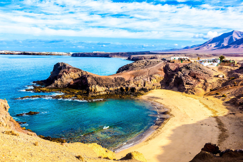 Resultado de imagen de playa de papagayo lanzarote
