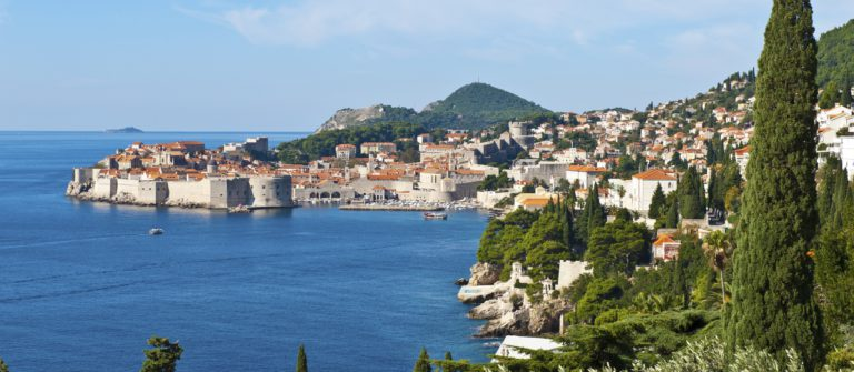 The Old Town of Dubrovnik Croatia iStock_000052000052_Large