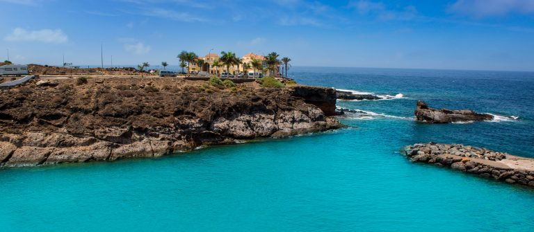 Beach Playa Paraiso costa Adeje in Tenerife at Canary Islands shutterstock_123450268-2