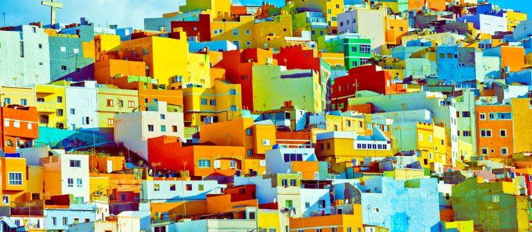 Vuelos entre Islas Canarias Gran canaria