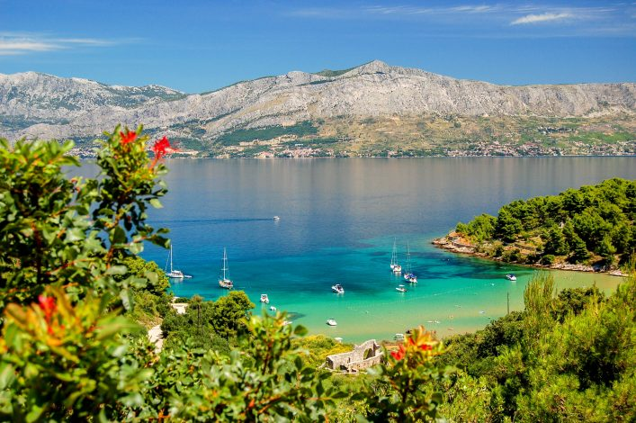 Isla de Brac en Croacia playa