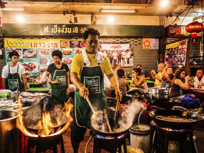 Los mejores mercados de comida callejera