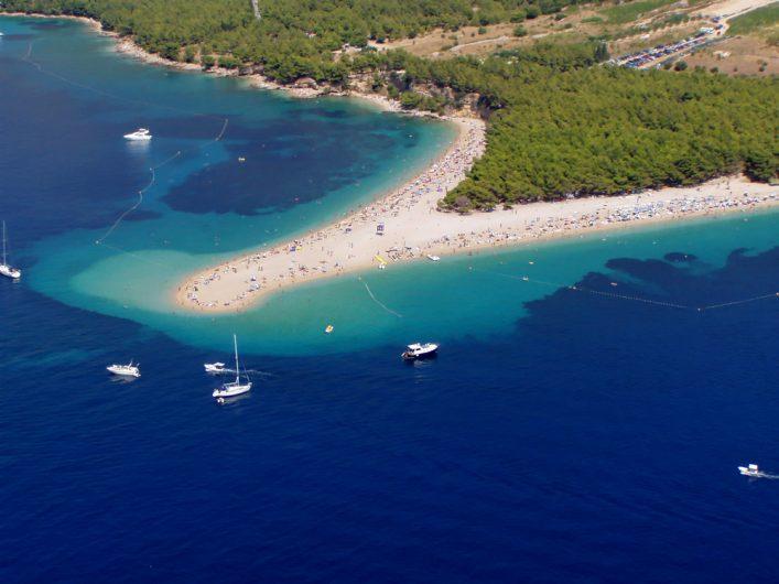 La isla de Brac en Croacia