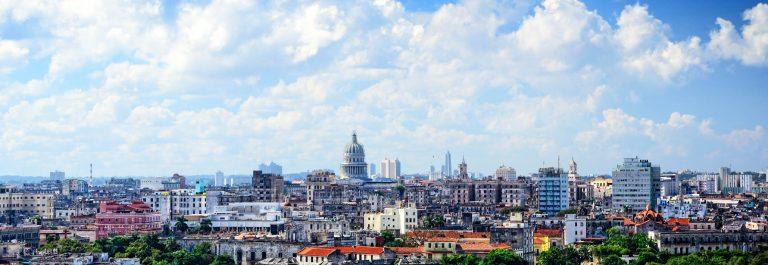 Panoramic view of Havana