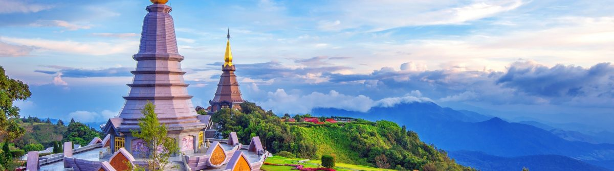 Chiang Mai pagoda in inthanon national park shutterstock_518928754 Large – Copy