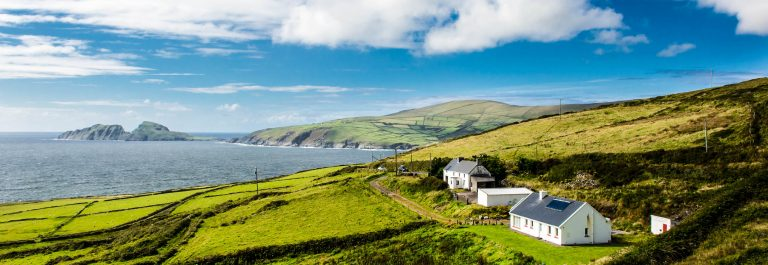 Houses at the Coast of Ireland iStock_000083324853_Large-2