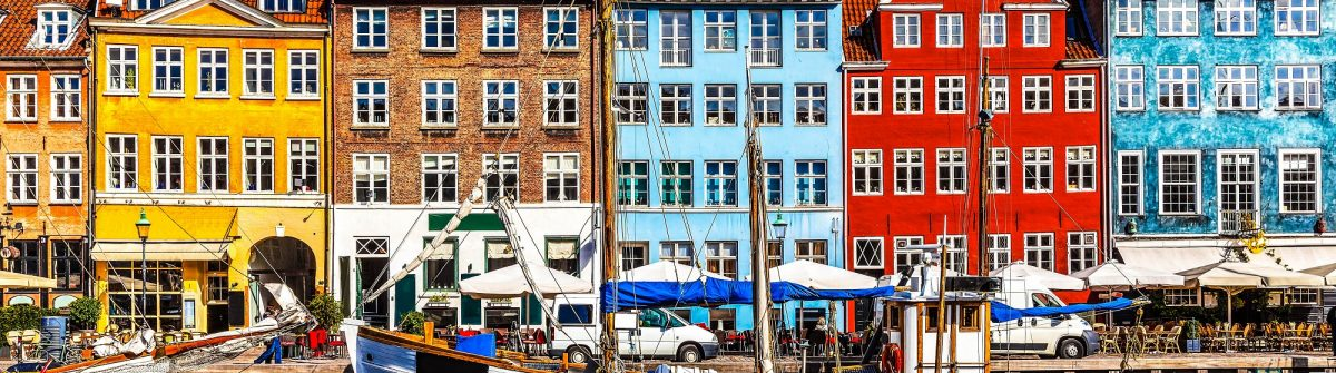 Scenic summer view of color buildings of Nyhavn in Copehnagen Denmark shutterstock_134874083-2-2