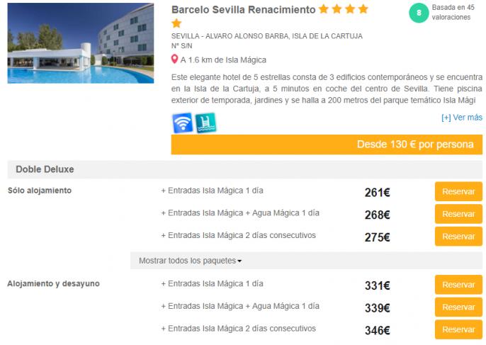 Escapada a isla m gica con hotel y entrada al parque - Isla magica ofertas 2017 ...