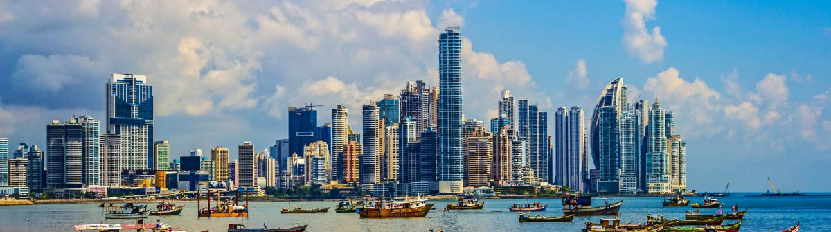 Panama City and Harbor Republic of Panama iStock_000079120007_Large-2