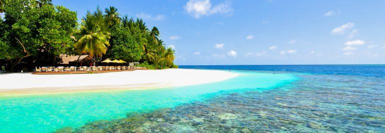 Tropical White Sand Maldives